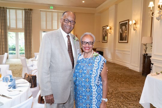 Horace and Bunny Webb at Martin Health Foundation's inaugural Legacy Society luncheon at Willoughby Golf Club in Stuart.