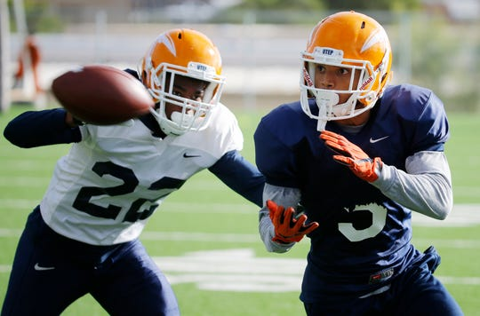 UTEP wide receiver Kenyan Foster from Lake Stevens, Wash., has risen from obscurity to the edge of something special, which is a reflection of the team. The junior, a former walk-on transfer coming off a serious knee injury, has been the revelation in UTEP's offensive renaissance as they prepare for Saturday's game against UAB.