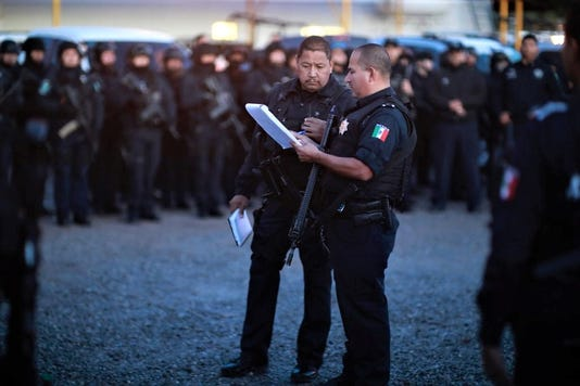 State Police Juarez