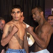 Erik Morales and Kevin Kelley will fight for Morales' WBC Featherweight Championship crown tonight at the Don Haskins Center.