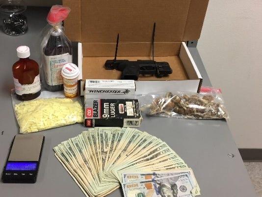 Narcotics contraband