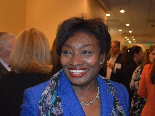State Sen. Andrea Stewart-Cousins, D-Yonkers, is poised to be Senate majority leader in New York.
