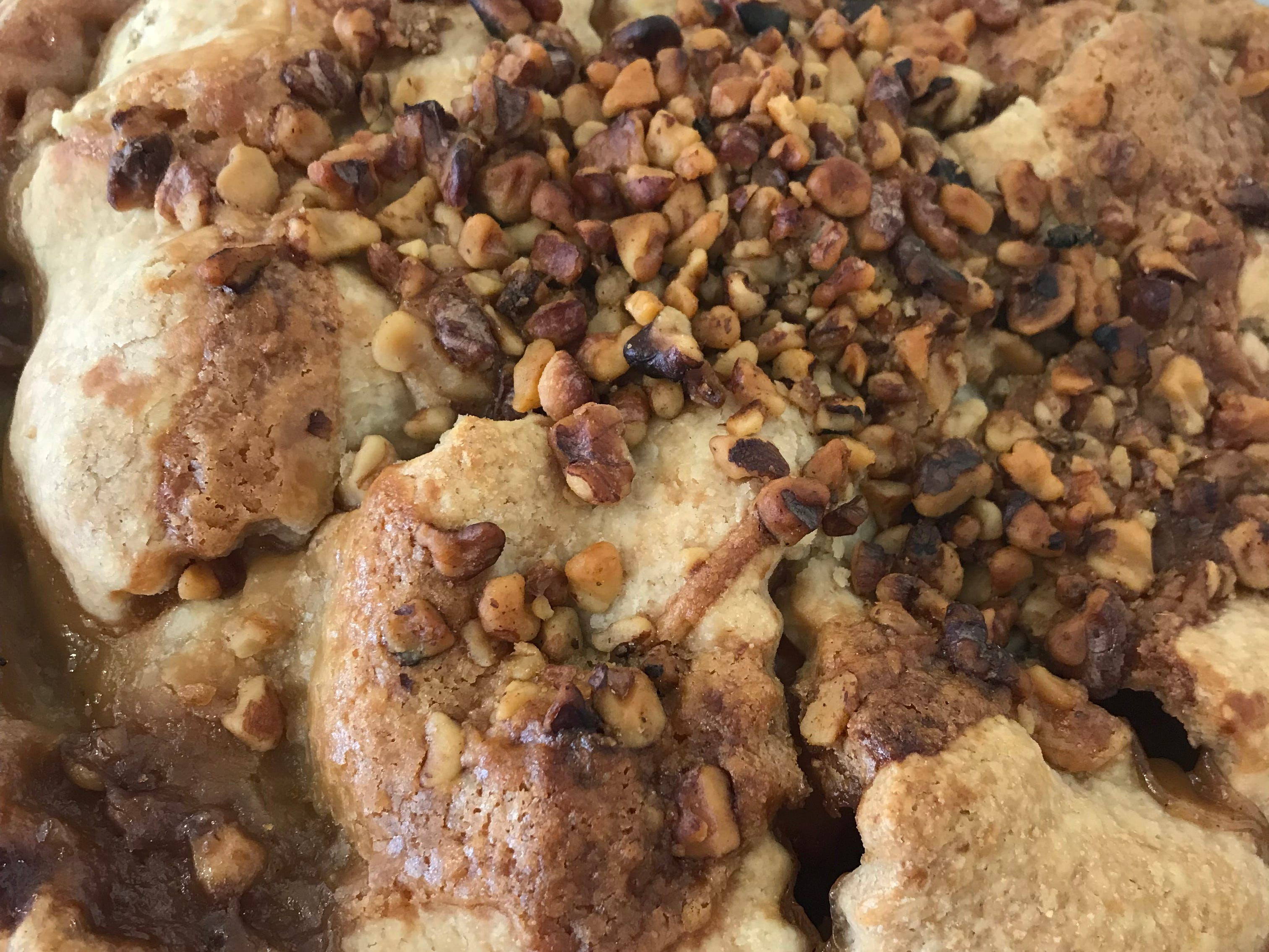 Apple Walnut pie at The Kneaded Bread in Port Chester.
