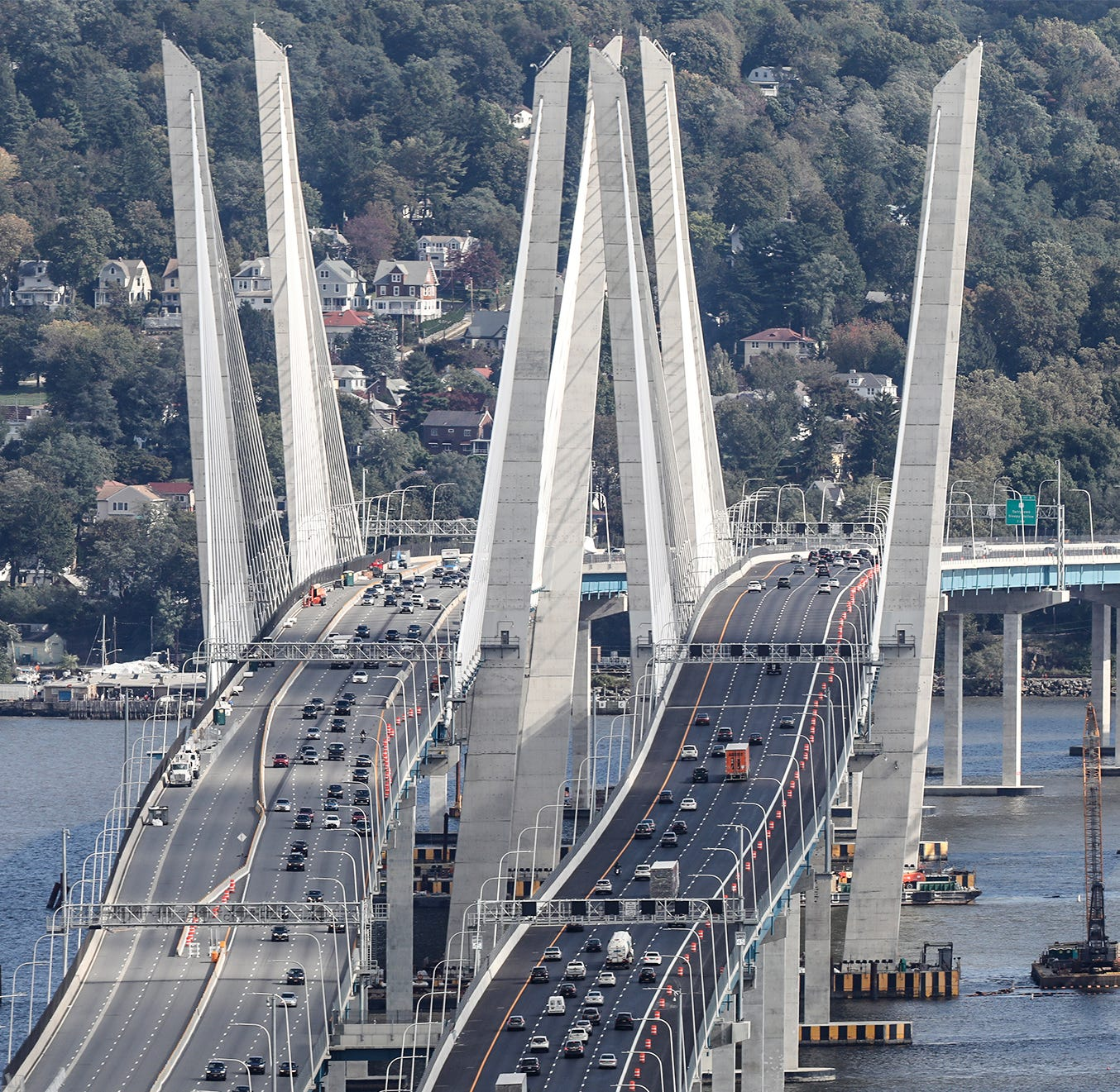 Mario Cuomo Bridge: $10M Purple Heart upgrade part of Tappan Zee naming deal