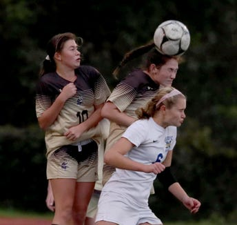 Clarkstown South defeated Mahopac 1-0 in a Section 1 Class AA girls soccer quarterfinal at Clarkstown South High School Oct. 23, 2018.