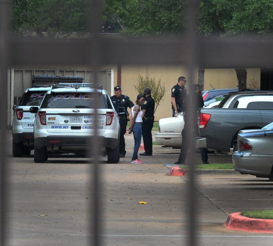 Wichita Falls police arrest Dakendra Manuel-Pope Tuesday afternoon in the 1600 block of 32nd Street on a warrant.