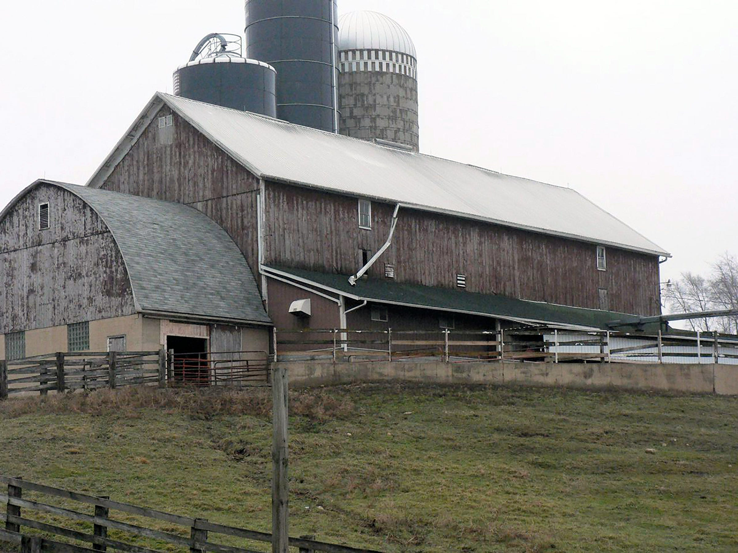 The additions to many barns denote the changes made over the years.