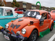 Halloween themed vehicle in Whitman, Massachusets captured by Lisa Coplin.