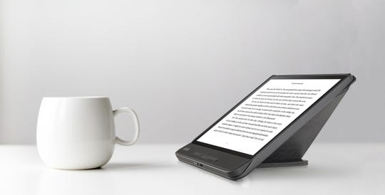 Available now, the Kobo Forma ($279) is the company's top-of-the-line e-reader. It offers a large and waterproof 8-inch screen, advanced wireless features and long-lasting battery.