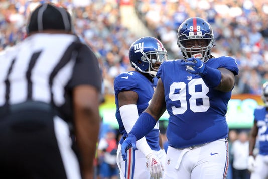 the best attitude 6f777 c0f17 Giants continue sell off, trade Damon Harrison to Lions