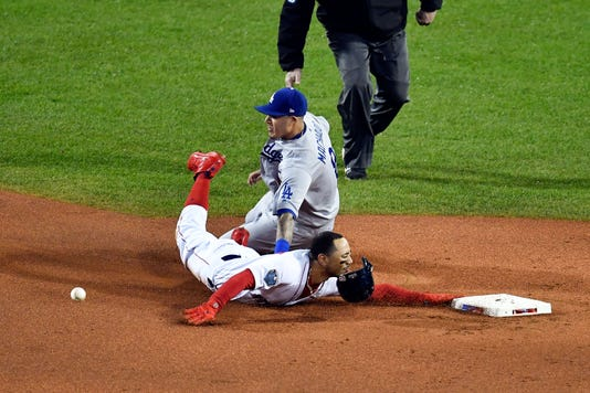 Mlb World Series Los Angeles Dodgers At Boston Red Sox
