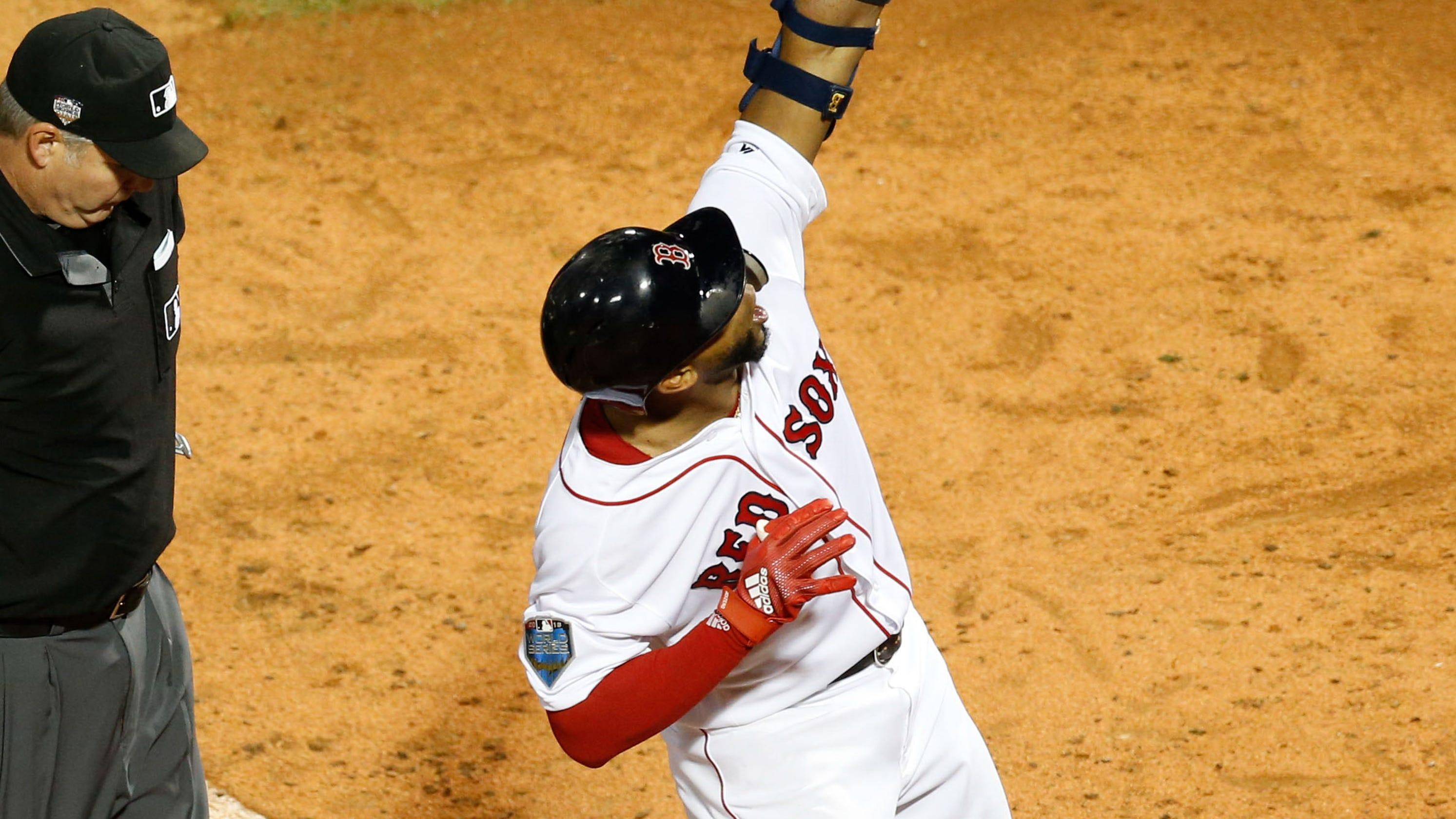 05577beaf1b World Series  Red Sox take Game 1 over Dodgers in battle of aces
