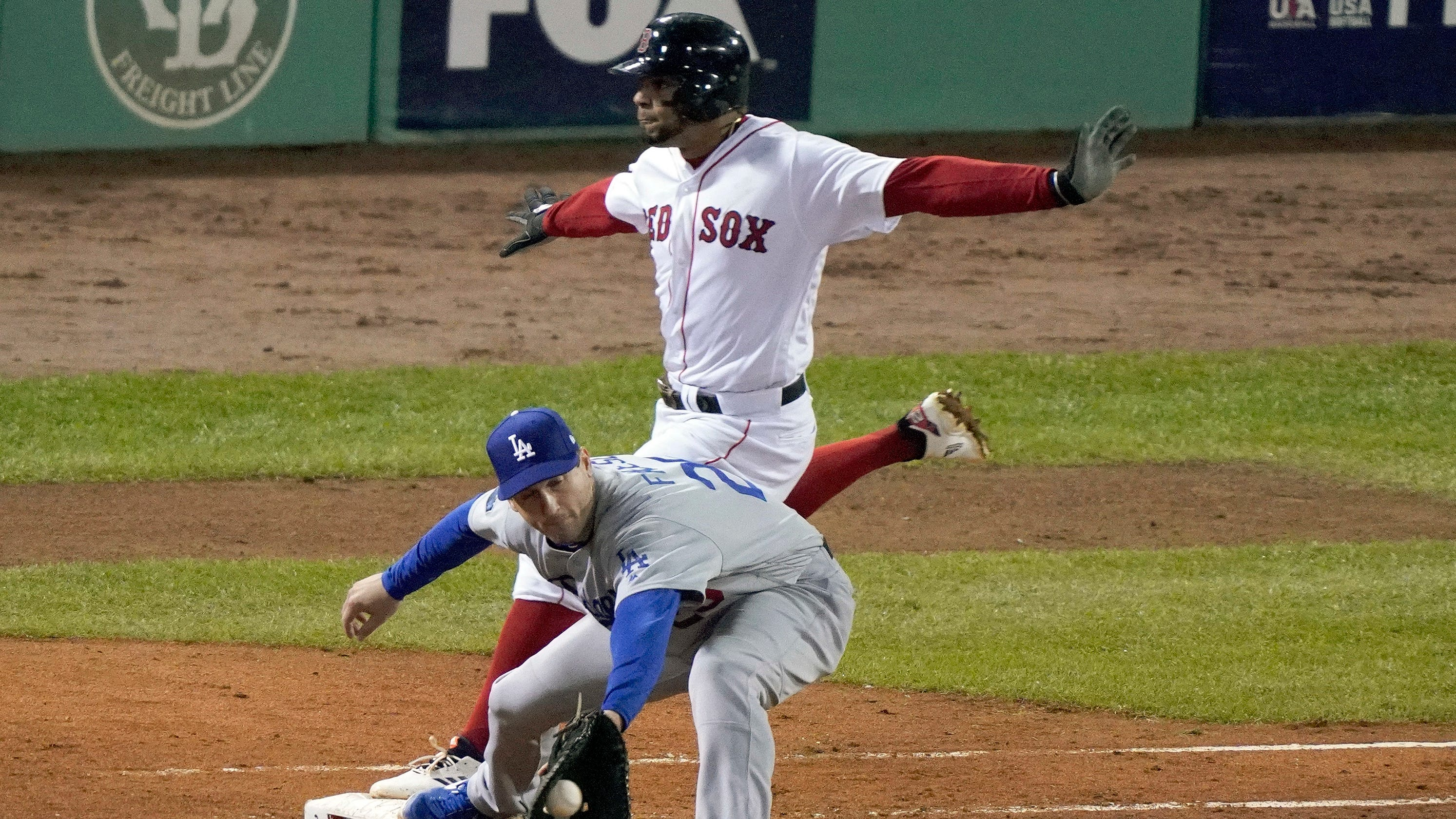 d31f1b4c75a World Series  Dodgers failed at little things in Game 1 vs. Red Sox