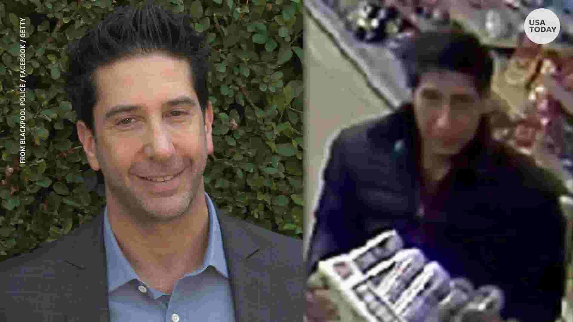 david schwimmer lookalike finally arrested for stealing beer