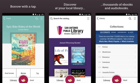 Browse, borrow and read e-books (or listen to audiobooks) on multiple devices, through Libby by OverDrive, a free app for phones, tablets and PCs. You can also send e-books to a Kindle e-reader