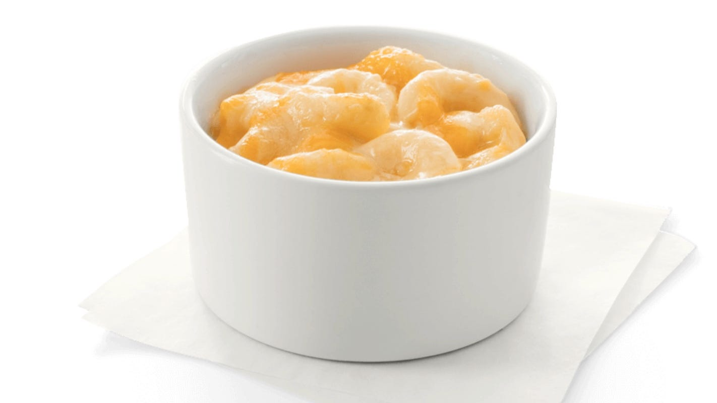 Chick-fil-A testing macaroni and cheese on menu in six cities