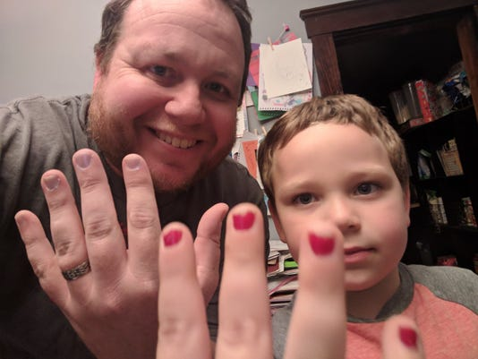 Nail Polish Twitter Thread Dad