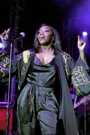 Estelle performs at the Six Degrees to Tennessee Roots Jam at New Daisy Theater on September 15, 2018 in Memphis, Tennessee.