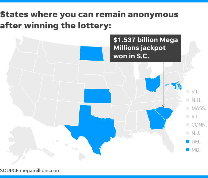 Mega Millions jackpot winner may stay anonymous in South
