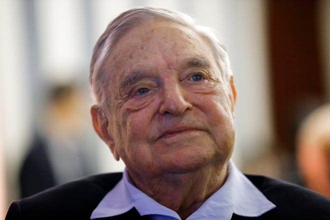 Philanthropist George Soros, founder and chairman of the Open Society Foundations, attends the European Council On Foreign Relations Annual Meeting in Paris in May.
