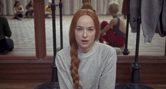"Dance rookie Susie (Dakota Johnson) gets a plum role in Luca Guadagnino's new ""Suspiria."""