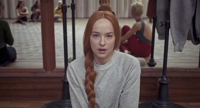 "Dance rookie Susie (Dakota Johnson) gets a plum role in Luca Guadagnino's new ""Suspiria."""