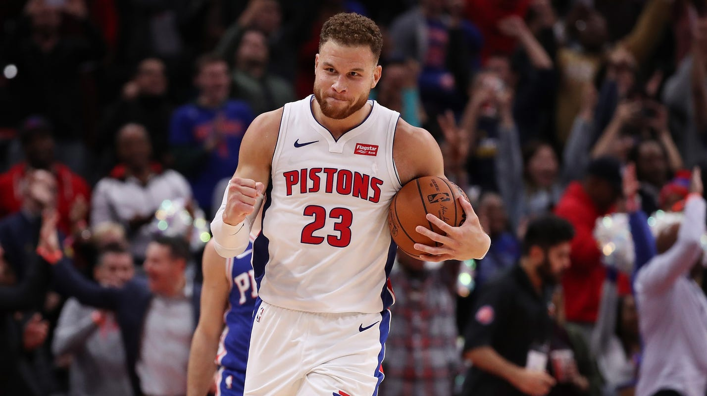 02c224138d5 Blake Griffin scores career-high 50 points