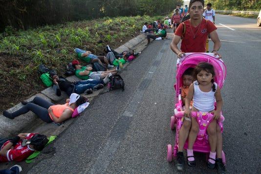 Ap Mexico Central America Migrant Caravan I Mex