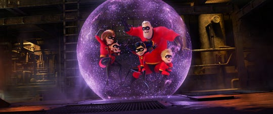 """Incredibles 2"" is out on DVD Tuesday."