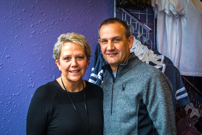 Kara and Tom Manuel, owners of Lillians of Appleton.