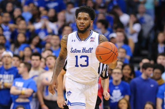 Ncaa Basketball Villanova At Seton Hall