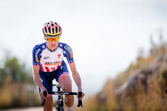 Megan Guarnier, an Olympian, three-time national champion and winner of several grand tours, will ride in the fifth annual Bookwalter Binge Gran Fondo Saturday, Oct. 27, starting at Warren Wilson College.