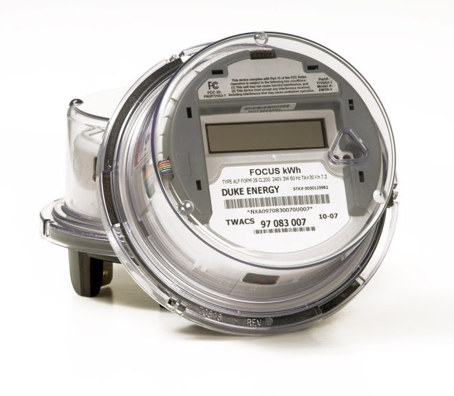 "Duke Energy is installing ""smart meters"" for all residential and commercial customers in the Asheville area."