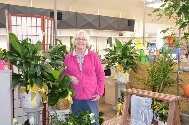 Jeanette Schmid, the current owner of Swonk's Flower Shop, is closing the store for retirement on Oct. 27, 2018.