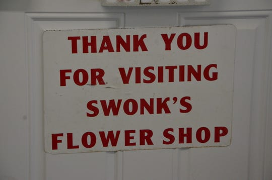 Swonks Flower Shop opened in 1927. Oct. 27, 2018, will be its last day.