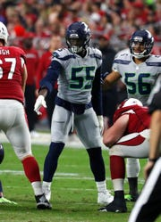 Seahawks defensive end Frank Clark is playing his best football during the final year of his rookie contract.
