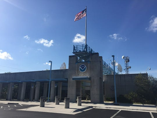 The National Hurricane Center is on the campus of Florida International University in Miami.