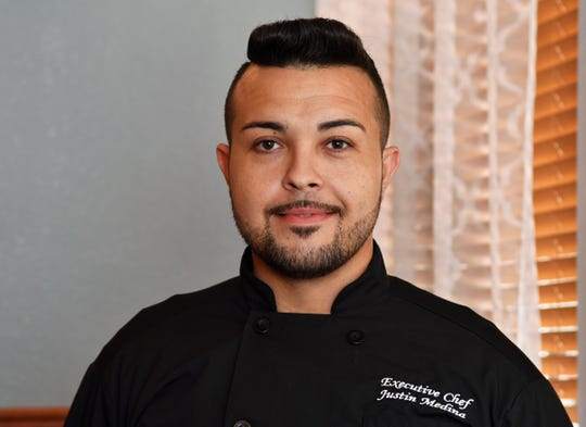 Justin Medina, executive chef at Playalinda Brewing Company -- The Brix Project in Titusville was a finalist in the James Beard Blended Burger competition and recently helped friend and fellow Brevardian Brandon Basista prepare his winning dish at the James Beard House in Manhattan.