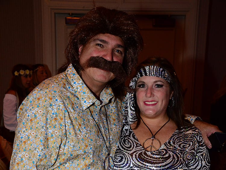 Looking awesome Saturday evening were Kevin Maloney and Lynne Hill. (photo by Tony Dees/for Florida Today)
