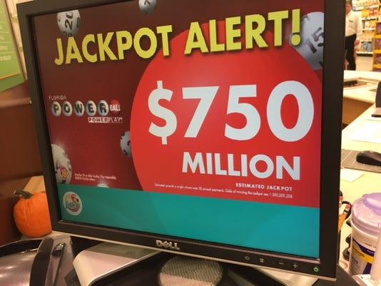 Two Winners In 750 Million Powerball Two 1 Million Winners In Nj