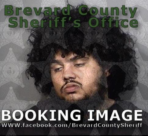 Donovan Adkins, 25, of Cocoa, is charged with possession of a firearm by a convicted felon and possession of ammo by a convicted felon. He was arrested in connection with an exchange of gunfire in a Port St. John home in June.