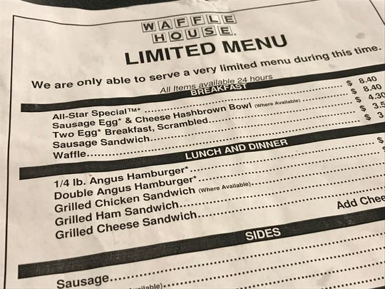 "Though they may go the ""limited menu"" route, it's hard to find an unopened Waffle House."