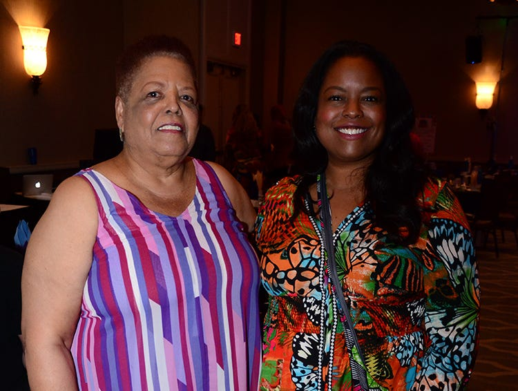 The Family Partnership's 4th Annual Decades in Revue Lip Sync Battle held at the Hilton Rialto in Melbourne had Fay Barronett and Jessica Miles in attendance. (photo by Tony Dees/for Florida Today)