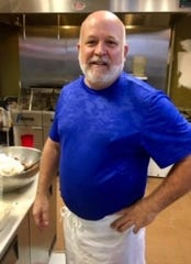 Joel Lyons, sous chef at Genna Pizza in Melbourne, has cooked professionally for 35 years in hotels and stand-alone restaurants and was executive chef in a well-known restaurant near Boston.