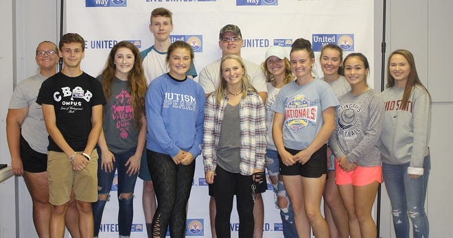 The Bucyrus High School Student Council will have a supply drive to collect new socks for the Salvation Army Oct. 29 through Nov 2. Several of the student council members are pictured after helping set up for a United Way of Crawford County fundraiser earlier this year.