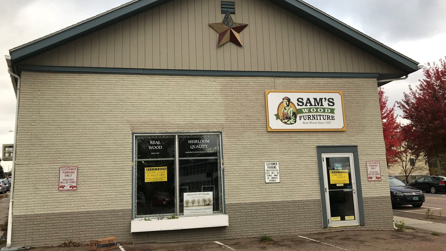 Sam S Wood Furniture Closes After 51 Years In The Old North End Unpaid Debts Remain