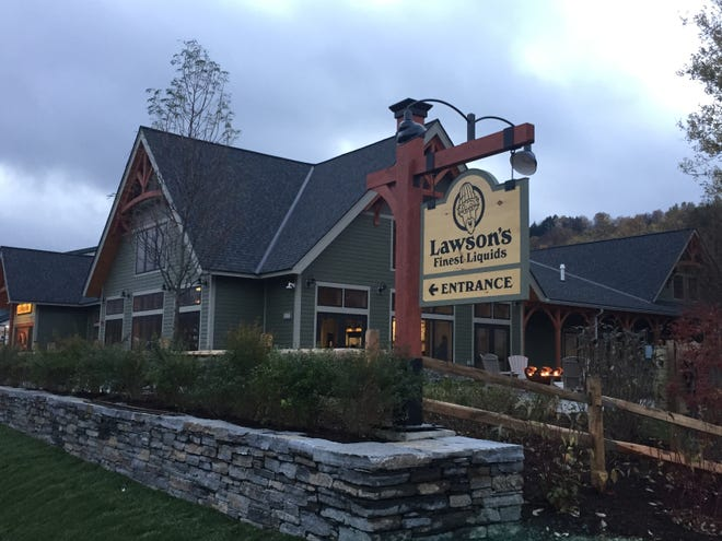 Lawson's Finest Liquids opened its new taproom on Monday, Oct. 22, 2018.