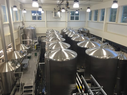 The brewery at Lawson's Finest Liquids in Waitsfield.