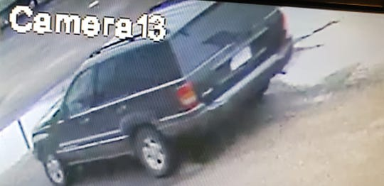 Corpus Christi police believe a suspected bank robber left a bank in the 5000 block of Ayers Street in this vehicle on Thursday, Oct. 25, 2018.