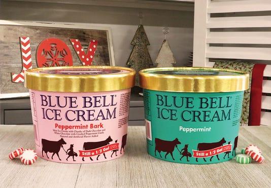 Blue Bell Peppermint Peppermint Bark Social